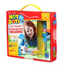 Hot Dots Jr Let'S Master Kindergarten Reading