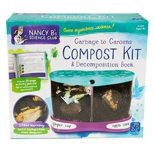 Nancy B'S Science Club Garbage To Gardens Compost Kit and Decomposition Book