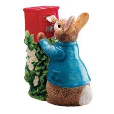Peter Rabbit Posting a Letter Figure
