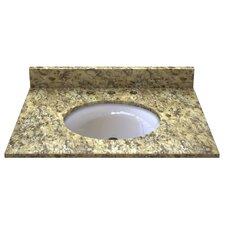 """Granite 31"""" Single Bathroom Vanity Top"""