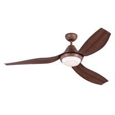 """56"""" Avvo 3-Blade Ceiling Fan with Remote"""