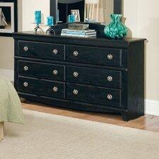 Prospect 6 Drawer Double Dresser