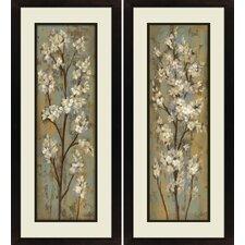 flower paintings botanical framed art youll love wayfair
