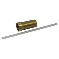 "0.75"" W x 2.5"" H Brass Extension Adapter for Soap Dispenser"