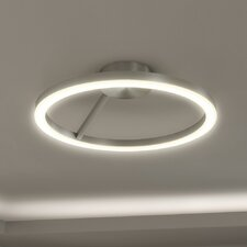 Zuben 1-Light Semi-Flush Mount