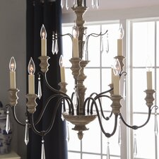 Madeliane Candle-Style Chandelier