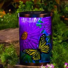 Garden Friends Butterfly Solar Wall Décor