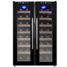 32 Bottle Dual Zone Built-In Wine Cooler