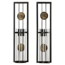 QUICK VIEW. Contemporary Wall Sconce Candle ...