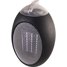 Personal Space Heater 50 Watt Portable Electric Fan Compact Heater with Adjustable Thermostat