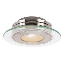 Vision 1-Light Outdoor Semi Flush Mount