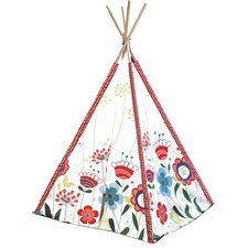 Kids Floral Play Teepee