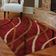 Brookhaven Red Area Rug