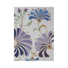 Portola Hand Tufted Light Purple Area Rug