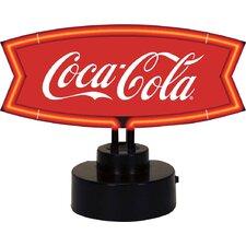 Coca-Cola Fishtail Neon Sculpture