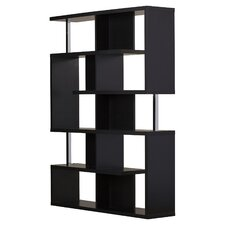 "63"" Accent Shelves Bookcase"