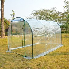 Poly Tunnel 2m W x 3.5m D Greenhouse