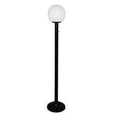 Single Globe Luminaire 79'' Post Light