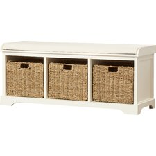 Seminole Wood Storage Hallway Entryway Bench