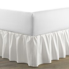 Solid Ruffled 150 Thread Count Bed Skirt by Laura Ashley Home