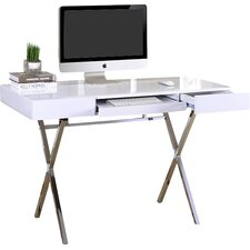Cevallos 2 Drawers Writing Desk