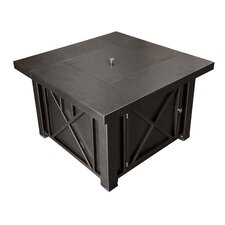 Lyons Steel Propane Fire Pit Table