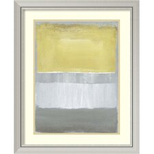 'Half Light I' by Caroline Gold Framed Painting Print