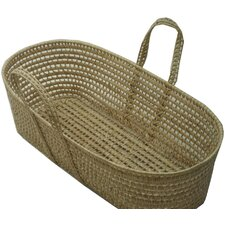 Palm Leave Moses Basket With Handles