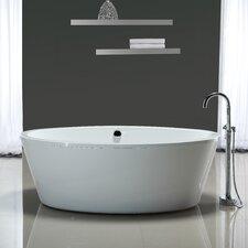 """Marilyn 67"""" x 43"""" Soaking Bathtub"""