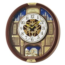 Melodies in Motion Garland Musical Wall Clock