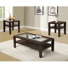 Golder 3 Piece Coffee Table Set