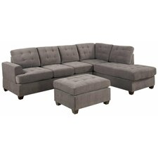 Old Rock Reversible Chaise Sectional