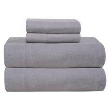 Medaryville Heavy Weight Flannel Solid Sheet Set
