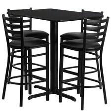 Rylee 5 Piece Pub Table Set
