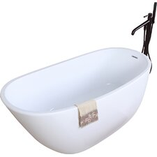 "Aqua Eden 59"" x 28.6"" Soaking Bathtub"