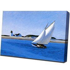 Long Leg by Edward Hopper Painting Print on Wrapped Canvas