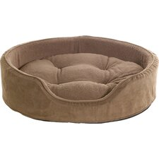 Snuggle Terry & Suede Pet Bed