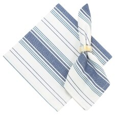 Galley 100% Cotton Striped Napkins (Set of 6)