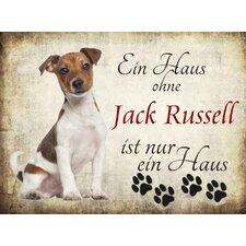 """Schild """"Jack Russell"""", Grafische Kunst"""