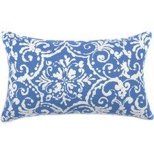 Vintage Floral Outdoor Lumbar Pillow