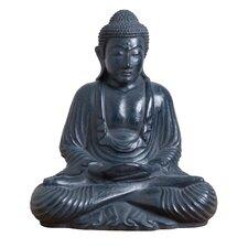 Asian Modern Korean Robed Buddha Sculpture