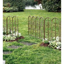 "Montebello 32"" H x 76"" W Fencing with Gate"