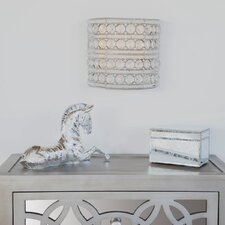 Garion Glam Doll Cordless 1-Light LED Flush Mount