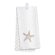 Coastal Home 2 Piece Starfish Kitchen Hand Towel (Set of 2)