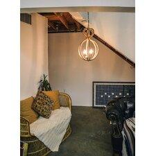 Rope 3-Light Foyer Pendant