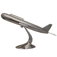 Solid Aluminum Model Airplane