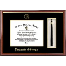 NCAA Tassel Box and Diploma Picture Frame