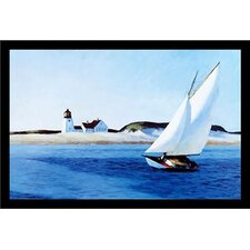 'The Long Leg American Museum Master' by Edward Hopper Framed Painting Print