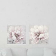 Flower and Nature 2 Piece Painting on Canvas Set