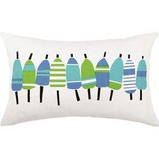 Buoys Outdoor 100% Cotton Lumbar Pillow